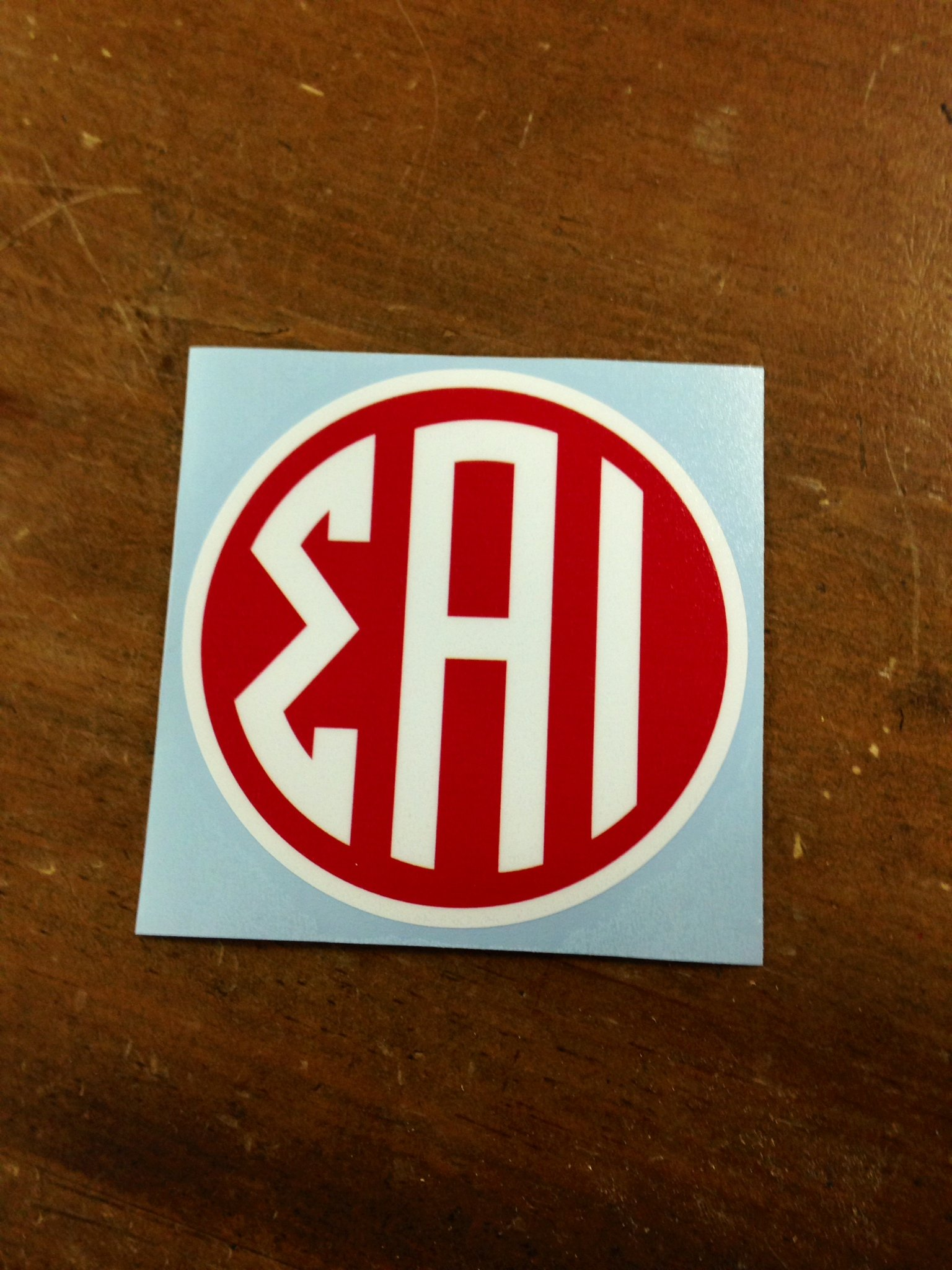 SAI Circle Decal