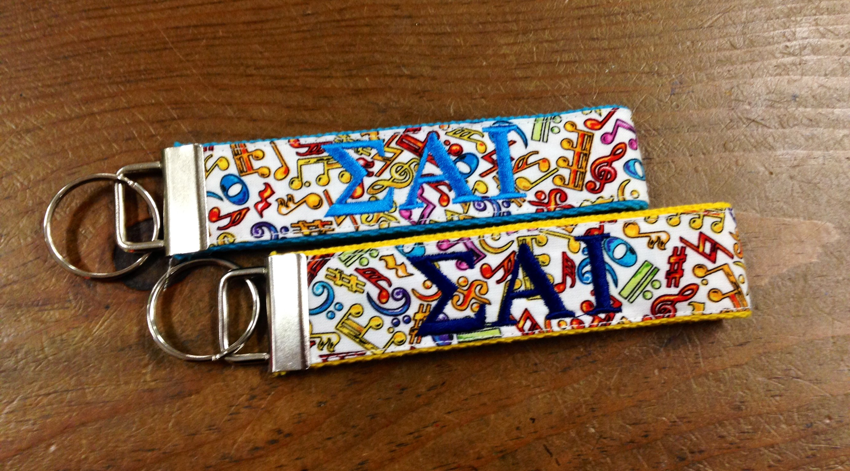 Multicolor Music Key Fob