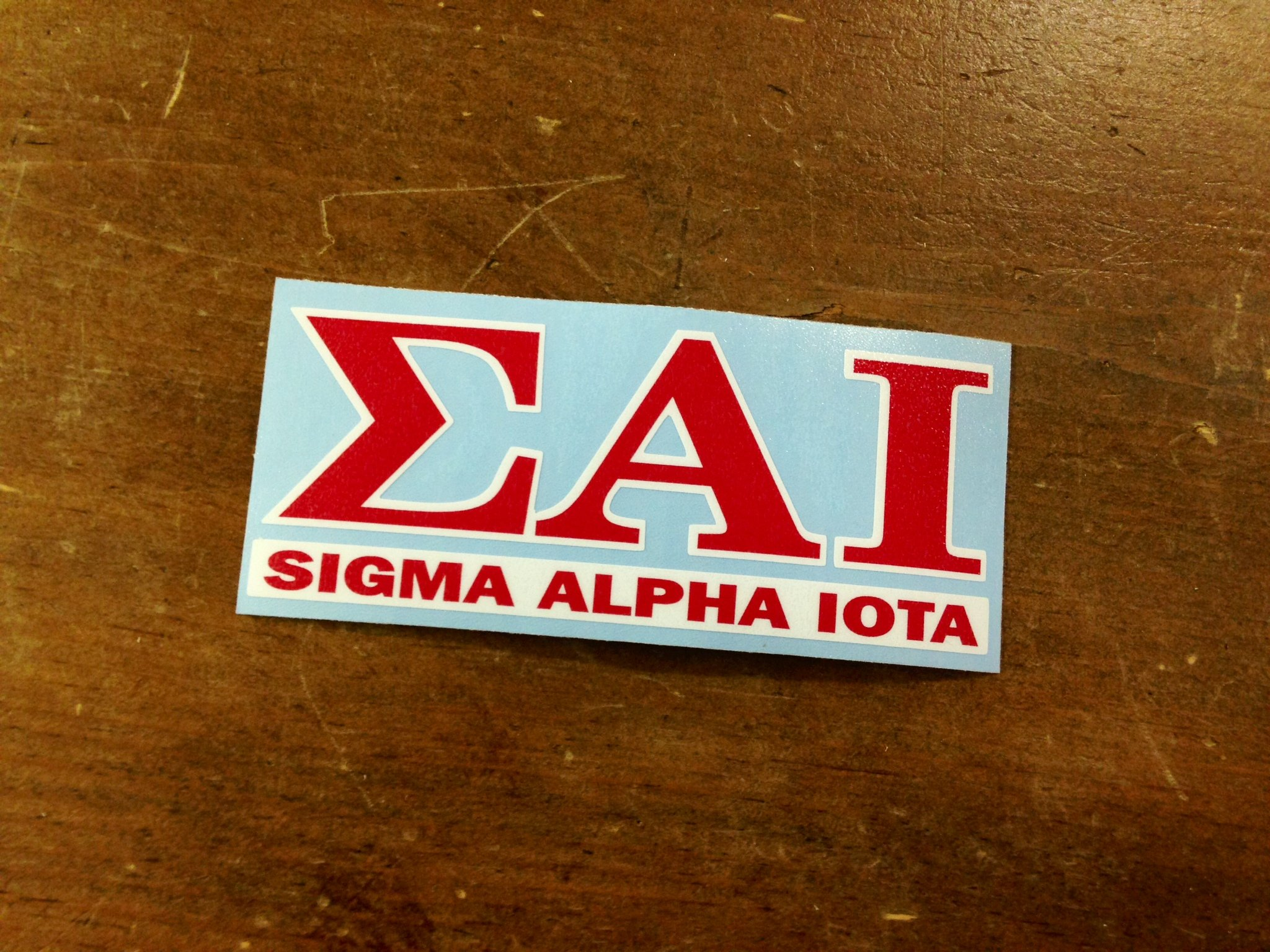 sai Sigma Alpha Iota Decal